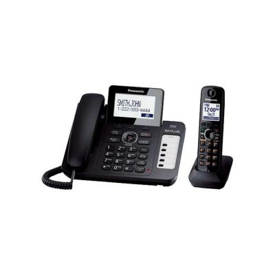 Panasonic DECT 6.0+ Corded/Cordless Phone with All-Digital Answering System, Talking CID, Speakerphone and 1 Handset
