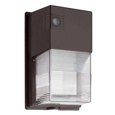 Lithonia Lighting Bronze LED Outdoor Wall-Mount Wall Pack Light