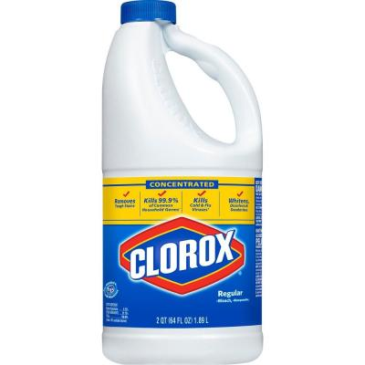 64 oz. Regular Concentrated Liquid Bleach Product Photo