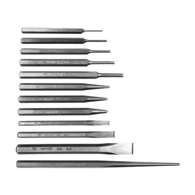 Mayhew Punch and Chisel Set (12-Piece)