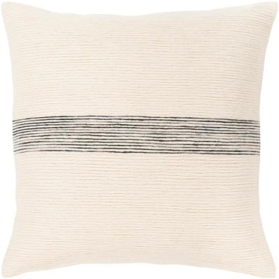 Ziad Striped Polyester Standard Throw Pillow