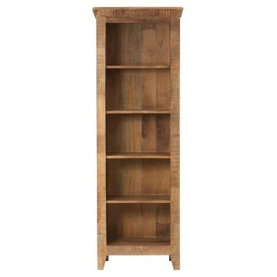Holbrook 5-Shelf Open Bookcase in Natural Product Photo
