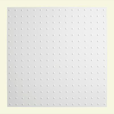 Fasade Minidome - 2 ft. x 2 ft. Lay-in Ceiling Tile in Gloss White