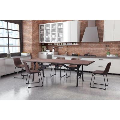 94.5 in. L Rectangular Bellevue Dining Table in Distressed Natural