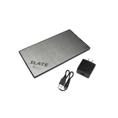 Slate 11000 mAh Rechargeable Lithium Portable Battery Pack for Cell Phones,