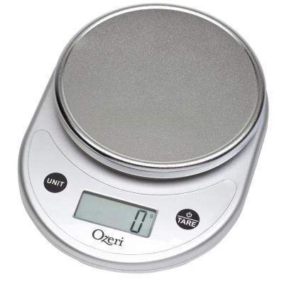 Pronto Digital Multifunction Kitchen and Food Scale in Elegant Silver
