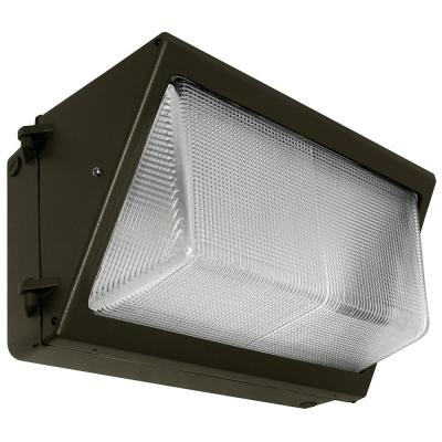 Radiance 58-Watt Bronze Integrated LED Large Wall Pack Light