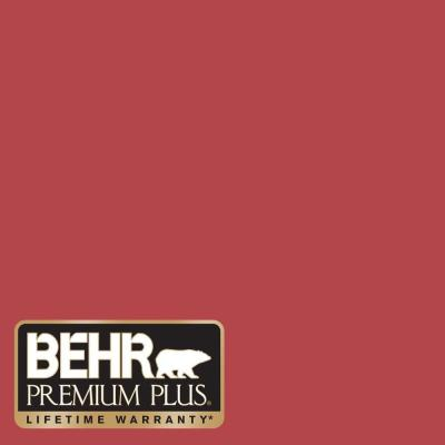 1-gal. #HDC-SM14-10 Intrigue Red Semi-Gloss Enamel Exterior Paint