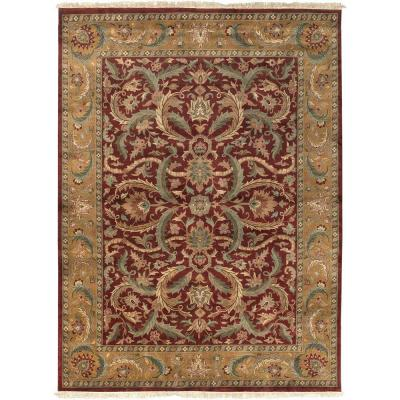 Artistic Weavers Alamut Burgundy 8 ft. 6 in. x 11 ft. 6 in. Area Rug