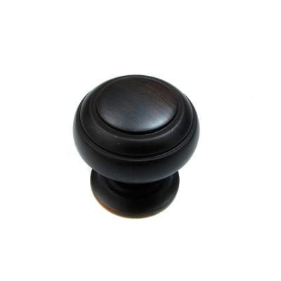 1-1/4 in. Brushed Oil-Rubbed Bronze Cabinet Knob