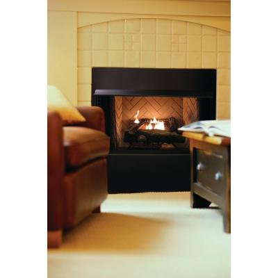 Vent-Free Natural Gas Fireplace Logs-OVM21NG - The Home Depot - Emberglow Oakwood 24 In. Vent-Free Natural Gas Fireplace Logs