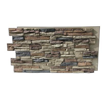 Lightning Ridge 48 in. x 24 in. Class A Fire Rated Faux Stone Siding Panel