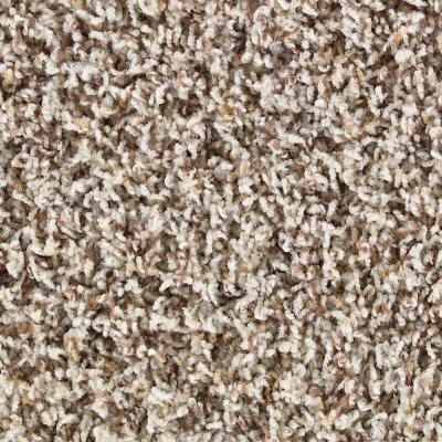 Martha Stewart Living Chatsworth Sharkey Gray Tonal - 6 in. x 9 in. Take Home Carpet Sample - DISCONTINUED