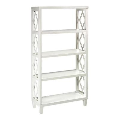 Home Decorators Collection Reflections 56 in. H x 28 in. W Storage Shelf in White