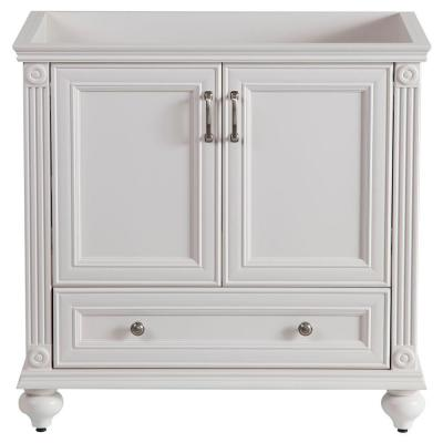 Home decorators collection annakin 36 in vanity cabinet only in cream clsd3621 cr the home depot Home decorators collection 36 vanity