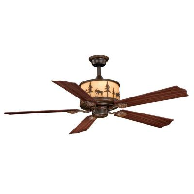 AireRyder Yellowstone 56 in. Burnished Bronze Ceiling Fan