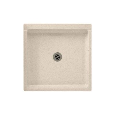 32 in. x 32 in. Solid Surface Single Threshold Shower Floor in Tahiti Sand Product Photo