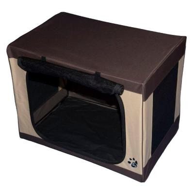 Pet Gear 27 in. x 18 in. x 21 in. Travel Lite Soft Crate TL5027SA
