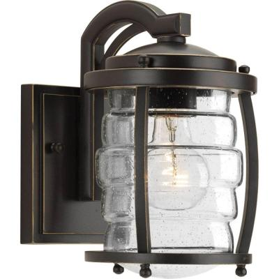 Signal Bay Collection 1-Light Oil Rubbed Bronze Wall Lantern