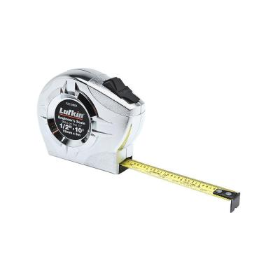 Lufkin 1/2 in. x 10 ft. (13 mm x 3 m) Power Return Engineer's Tape Measure