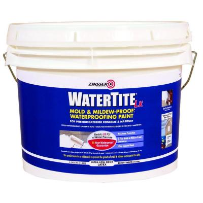 3-gal. WaterTite LX Low VOC Mold and Mildew-Proof White Water Based