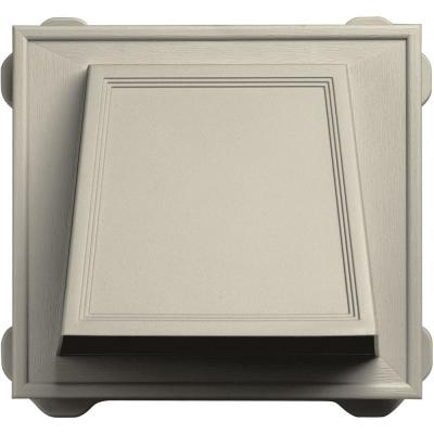 6 in. Hooded Siding Vent #089-Champagne Product Photo