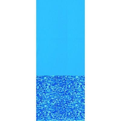 Swirl Bottom Overlap Above Ground Pool Liner
