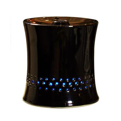 Ultrasonic Aroma Diffuser Humidifier with Ceramic Housing in Black