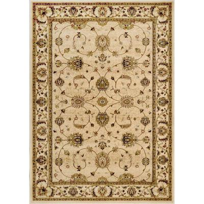 Home Dynamix Dynasty Beige 7 ft. 9 in. x 10 ft. 2 in. Area Rug