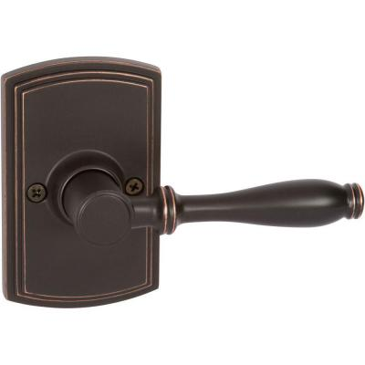 Italian Collection Sorado Edged Oil-Rubbed Bronze Dummy Lever