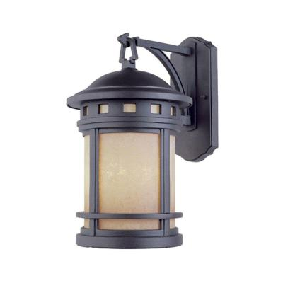 Designers Fountain Mesa Collection 3 Light Wall Mounted Outdoor Oil Rubbed Bronze Lantern