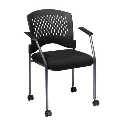 FreeFlex Fabric Visitors Chair in Coal