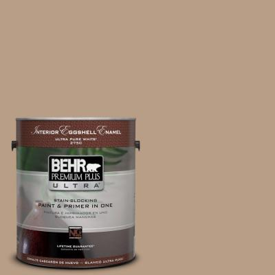 1-gal. #ICC-52 Cup of Cocoa Semi-Gloss Enamel Interior Paint