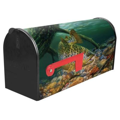 Green Post Mount Brownsville Mailbox Product Photo