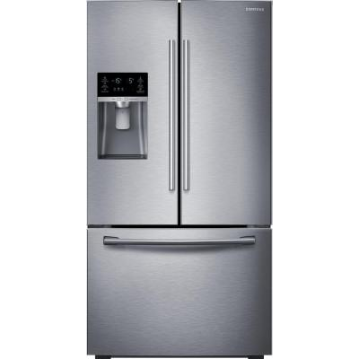Samsung 22.5 cu. ft. French Door Refrigerator in Stainless Steel, Counter Depth