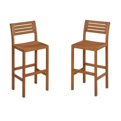 Home styles montego bay patio bar stool 5661 89 the home depot Home depot wood bar stools