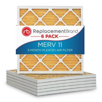 Merv 11 12 in. x 12 in. x 1 in. Air Purifier Replacement Filter (6-Pack) Product Photo