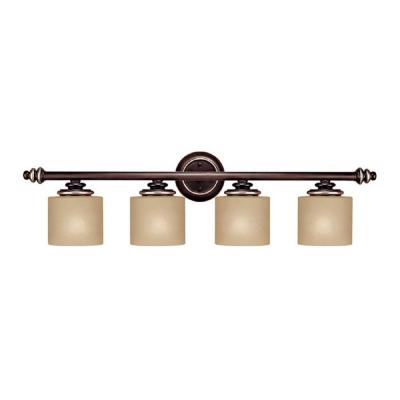 Filament Design 4-Light Champagne Bronze Vanity-CLI-CPT203395781 - The Home Depot