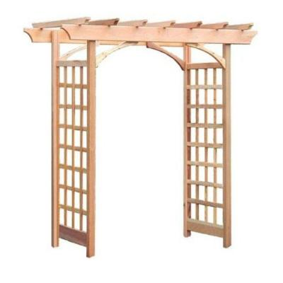 Berkeley 87 x 81 in. Outside Cedar Arbor Product Photo
