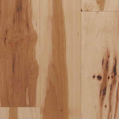 Hickory Natural 3/4 in. Thick x 2-1/4 in. Wide x Random Length Solid Hardwood Flooring (24 sq. ft. / case) Product Photo