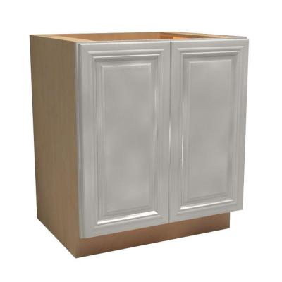 24x34.5x24 in. Coventry Assembled Base Cabinet with 2 Full Height Doors