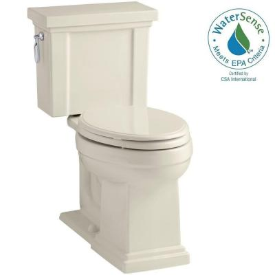 Tresham 2-piece 1.28 GPF Elongated Toilet with AquaPiston Flush Technology in