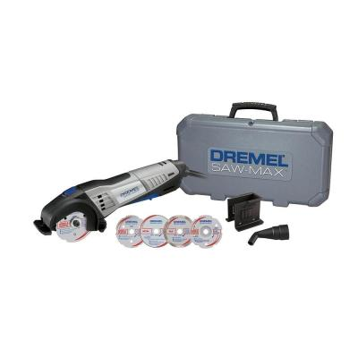 Dremel Saw-Max 6.0 Amp Corded Tool Kit with 6 Attachments for Wood, Plastic, Tile, and Metal with a Carrying Case