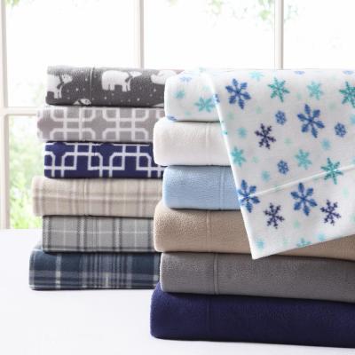 Ultra Plush Cotton Fleece Sheet Set