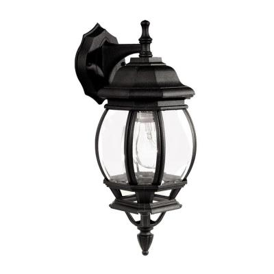 Livex Lighting Providence Wall-Mount 11-Light Outdoor Black Incandescent Lantern