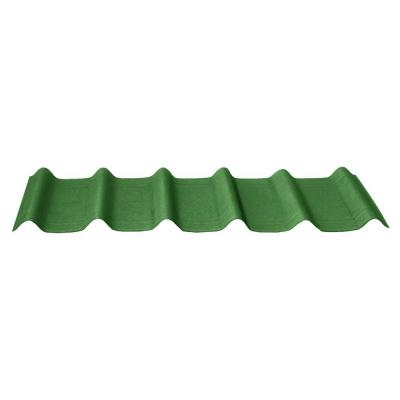 42 in. x 16 in. x 1.6 in. Forest Green 3D Shingles (10-Pieces) Product Photo