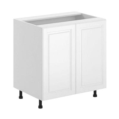 33x34.5x24.5 in. Birmingham Full Height Base Cabinet in White Melamine and