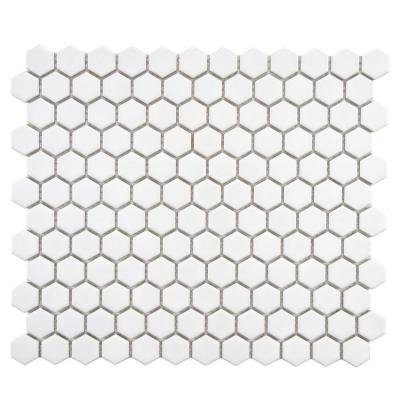 In X 5 Mm Porcelain Mosaic Floor And Wall Tile Sq Ft Case