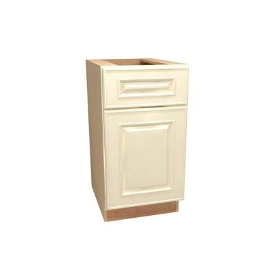 18x34.5x24 in. Holden Assembled Base Cabinet with Single Door in Bronze