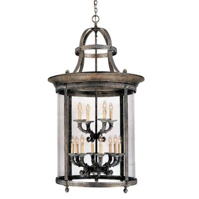 World imports chatham collection 12 light french bronze for French country outdoor lighting